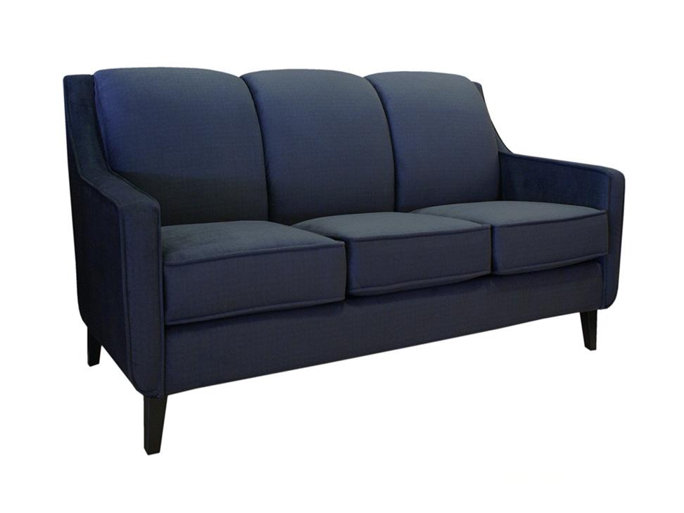 sof contempor neo azul marino lily liverpool es parte de