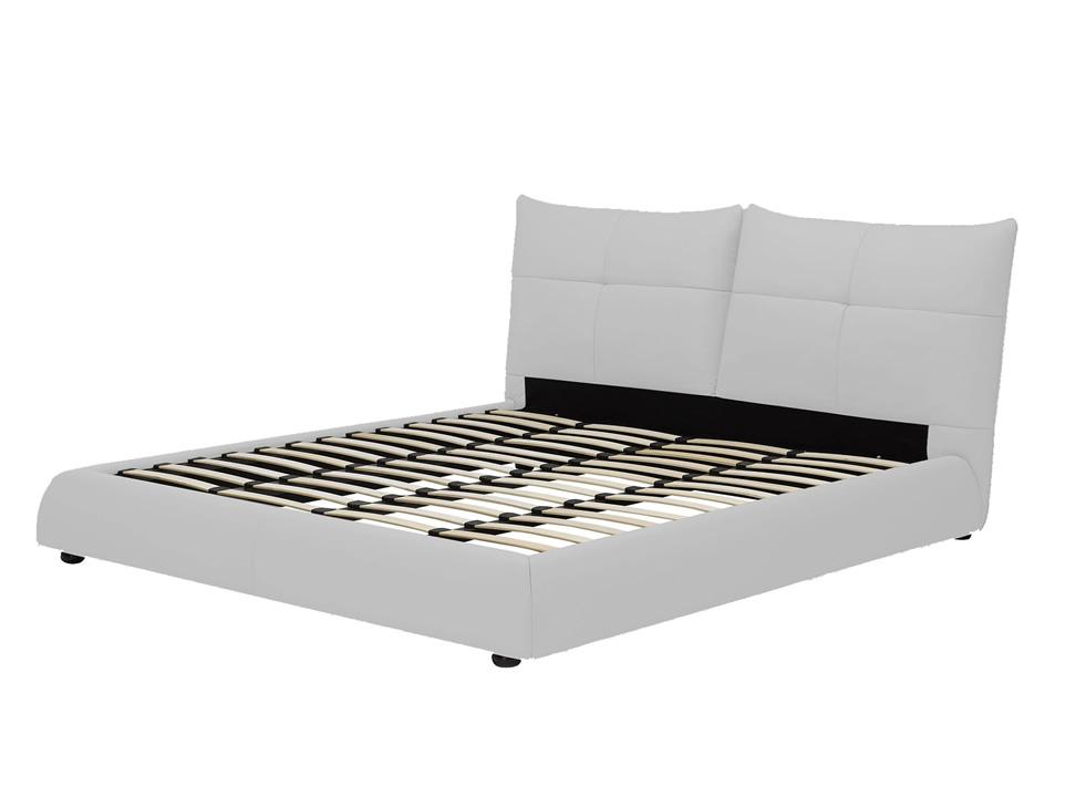 Dubl n cama king size contempor nea blanca for Bases para cama king size df