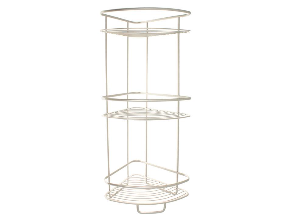 Interdesing estante para ducha plata axis liverpool es - Estante para ducha ...