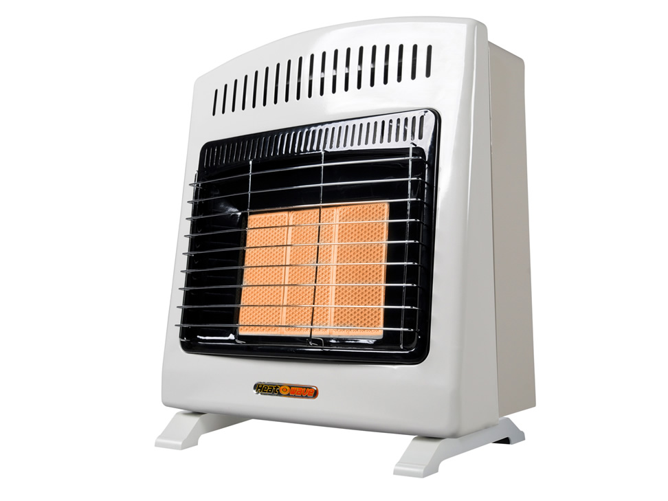Calefactor de pared a gas heat wave blanco hg3w n - Calefactores a gas ...