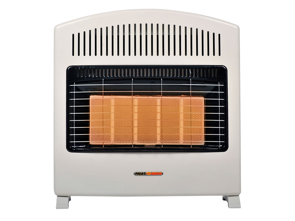 Calefactor de pared a gas heat wave blanco hg5w n - Calefactores a gas ...